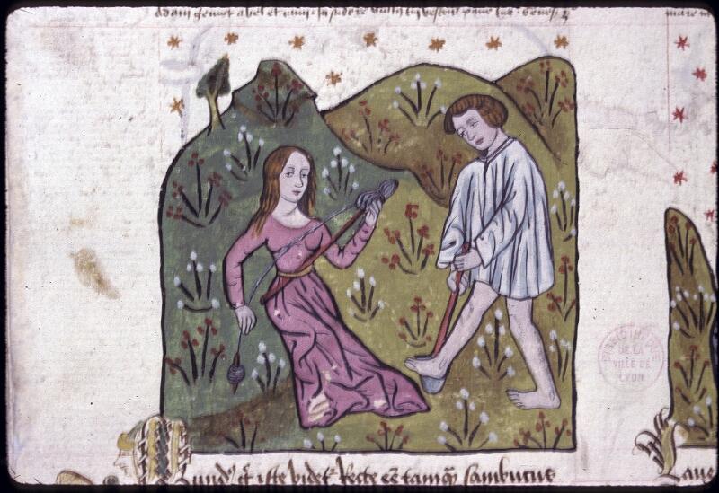 Lyon, Bibl. mun., ms. 0245, f. 121v - vue 1