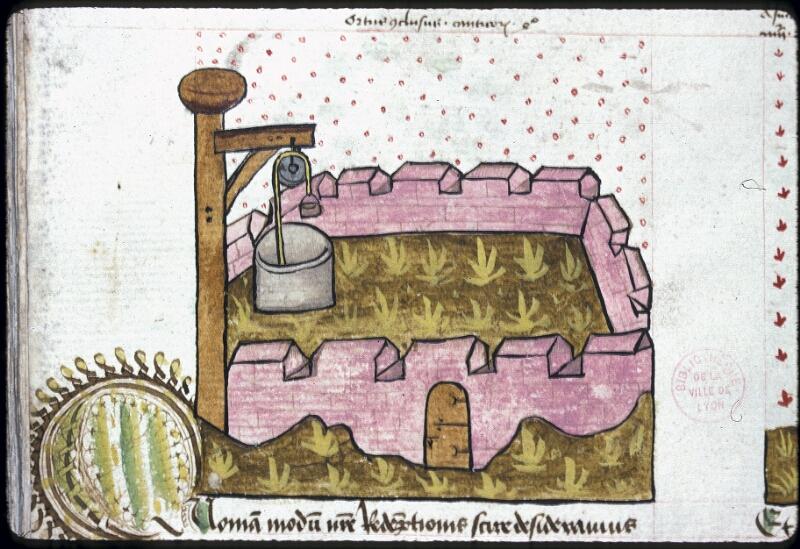 Lyon, Bibl. mun., ms. 0245, f. 122v - vue 1