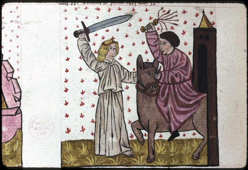 Lyon, Bibl. mun., ms. 0245, f. 122v - vue 2