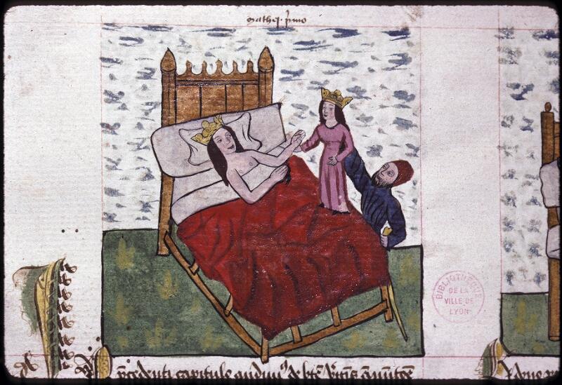 Lyon, Bibl. mun., ms. 0245, f. 123v - vue 1