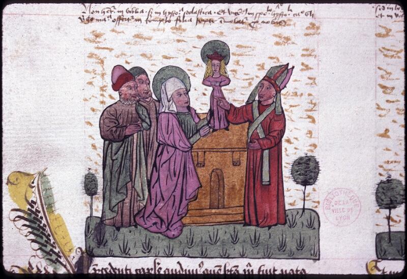 Lyon, Bibl. mun., ms. 0245, f. 124v - vue 1