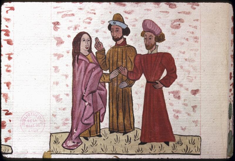 Lyon, Bibl. mun., ms. 0245, f. 125v - vue 2