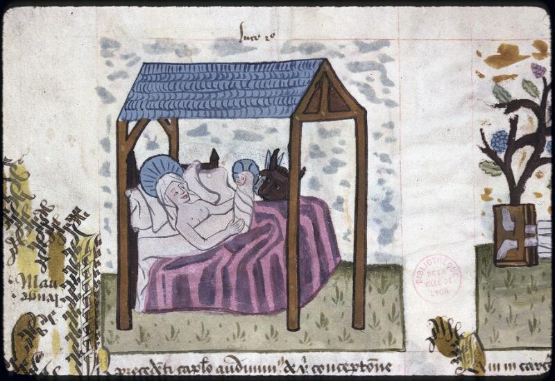 Lyon, Bibl. mun., ms. 0245, f. 127v - vue 1