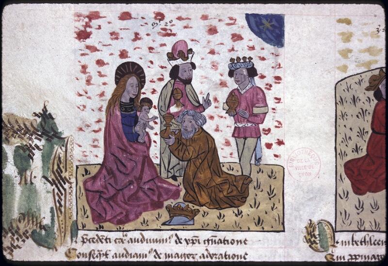 Lyon, Bibl. mun., ms. 0245, f. 128v - vue 1