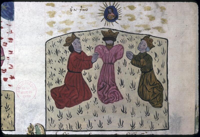 Lyon, Bibl. mun., ms. 0245, f. 128v - vue 2
