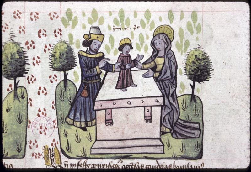 Lyon, Bibl. mun., ms. 0245, f. 130 - vue 2