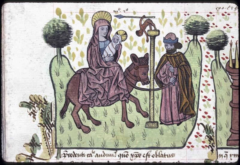 Lyon, Bibl. mun., ms. 0245, f. 130v - vue 1