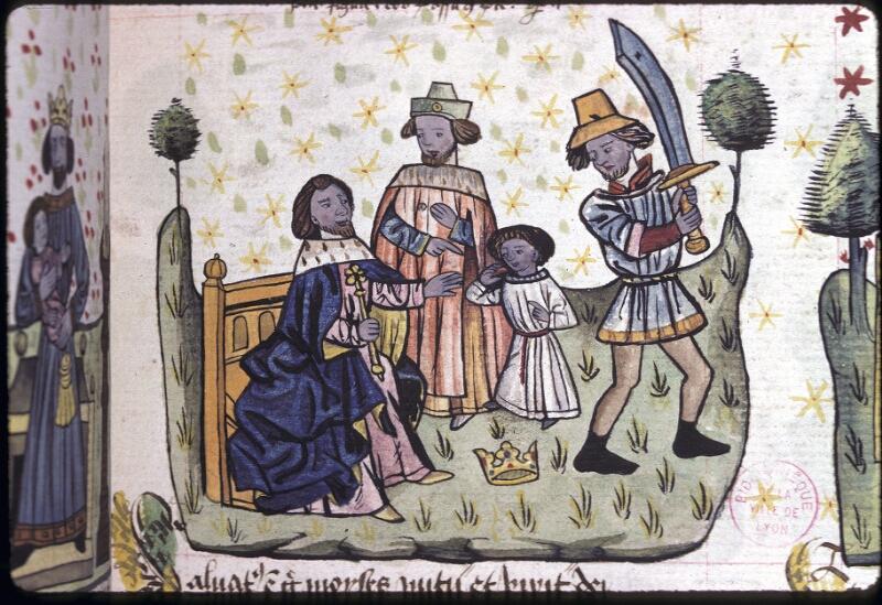 Lyon, Bibl. mun., ms. 0245, f. 131 - vue 1