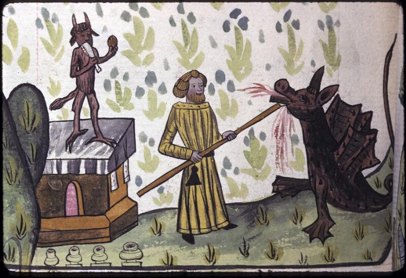 Lyon, Bibl. mun., ms. 0245, f. 132v - vue 2