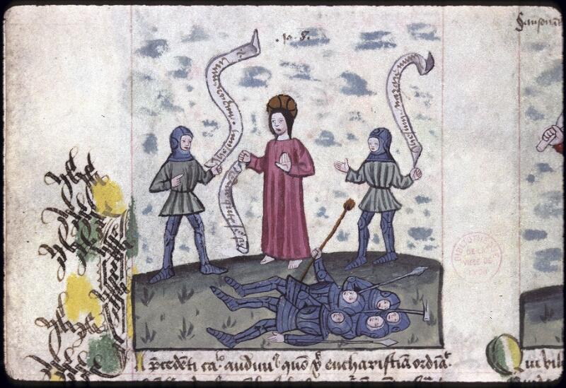 Lyon, Bibl. mun., ms. 0245, f. 136v - vue 1