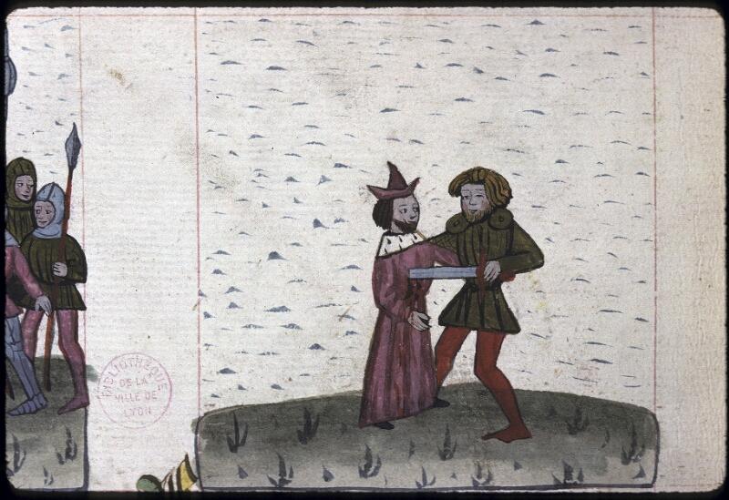 Lyon, Bibl. mun., ms. 0245, f. 137v - vue 2