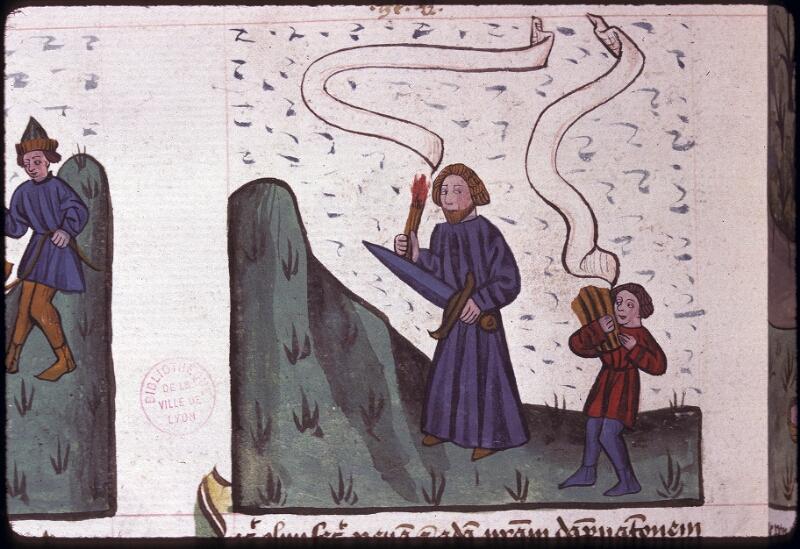 Lyon, Bibl. mun., ms. 0245, f. 141v - vue 2