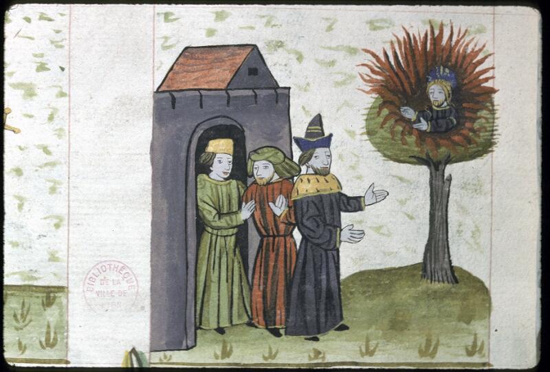 Lyon, Bibl. mun., ms. 0245, f. 150v - vue 2