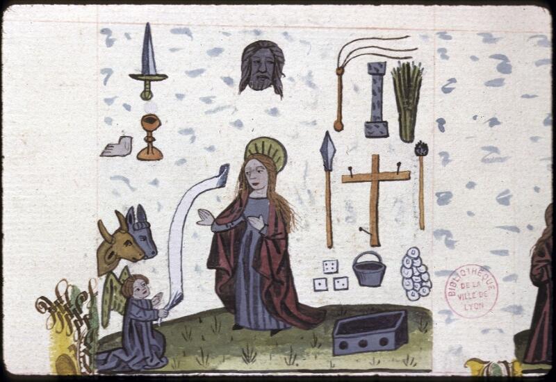 Lyon, Bibl. mun., ms. 0245, f. 154v - vue 1
