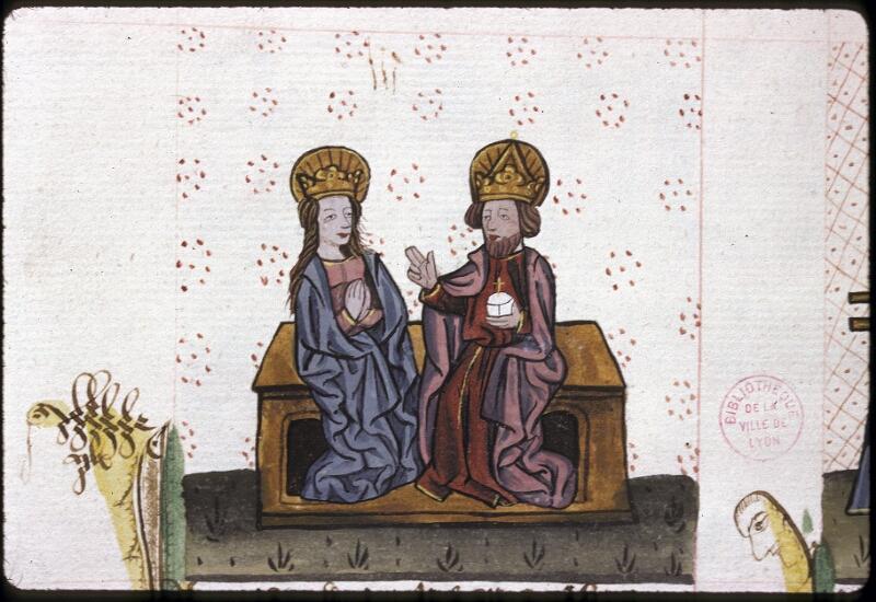 Lyon, Bibl. mun., ms. 0245, f. 155v - vue 1