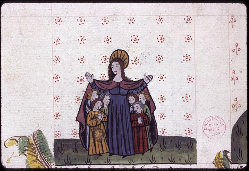 Lyon, Bibl. mun., ms. 0245, f. 157v - vue 1