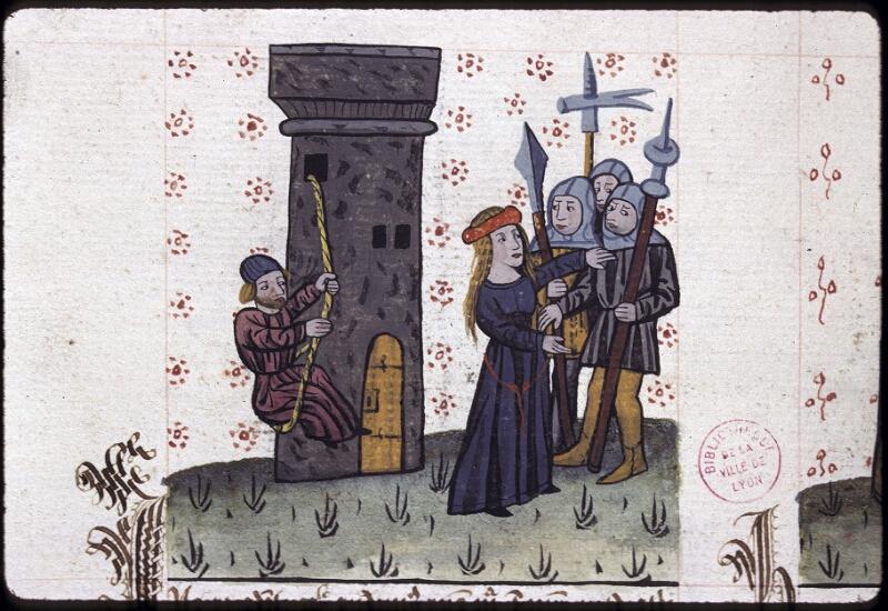 Lyon, Bibl. mun., ms. 0245, f. 158v - vue 1