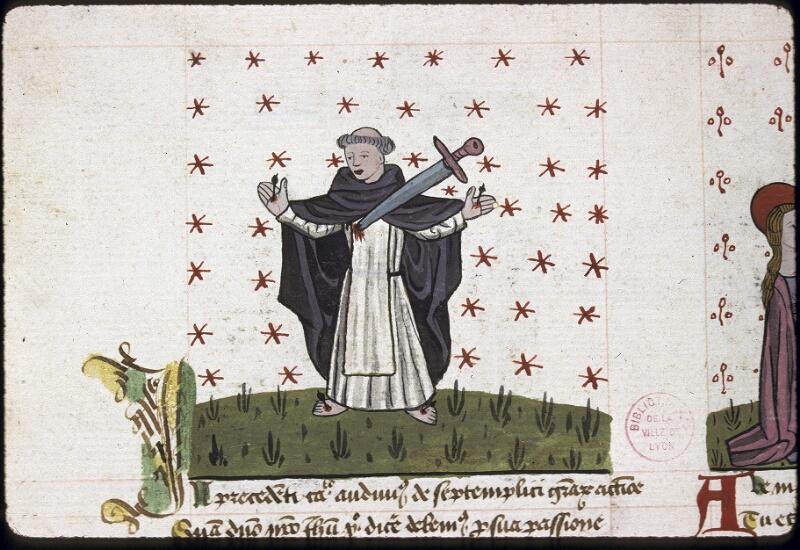 Lyon, Bibl. mun., ms. 0245, f. 164v - vue 1