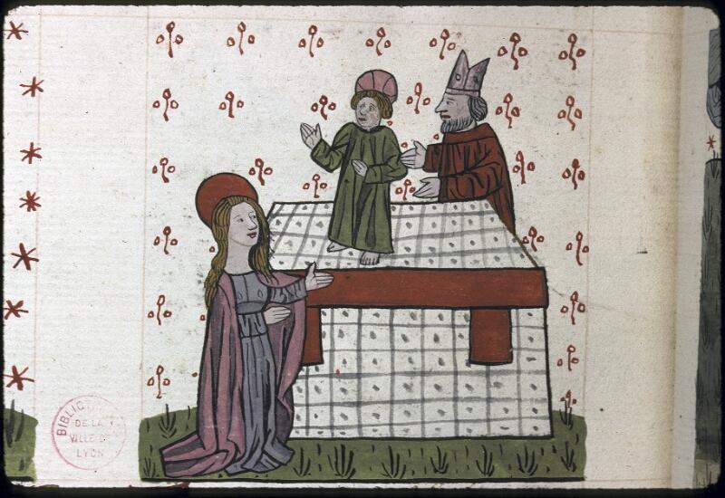 Lyon, Bibl. mun., ms. 0245, f. 164v - vue 2