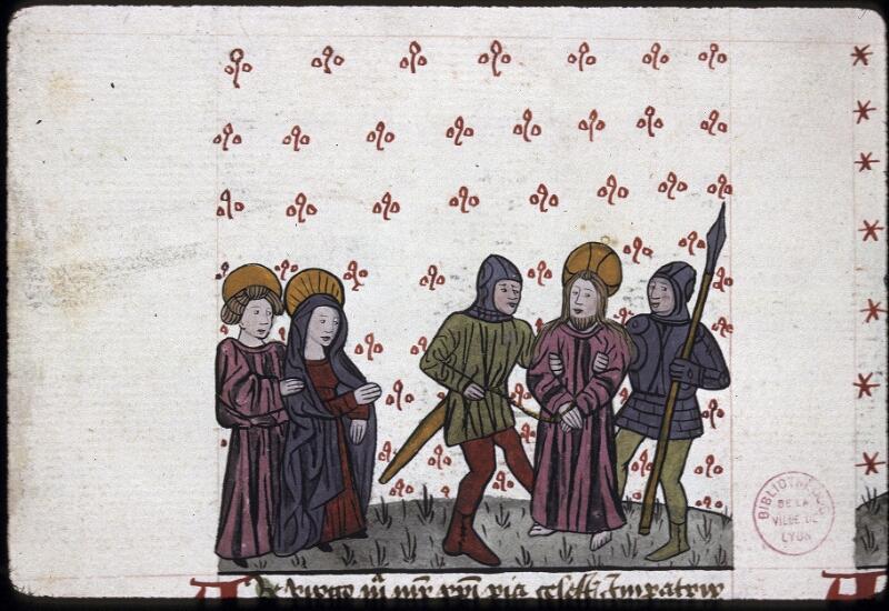 Lyon, Bibl. mun., ms. 0245, f. 165v - vue 1