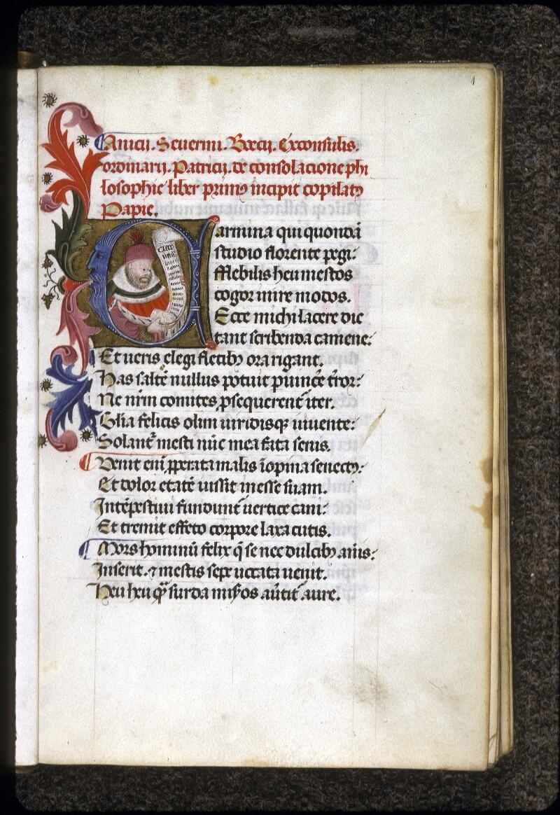 Lyon, Bibl. mun., ms. 0246, f. 001 - vue 2