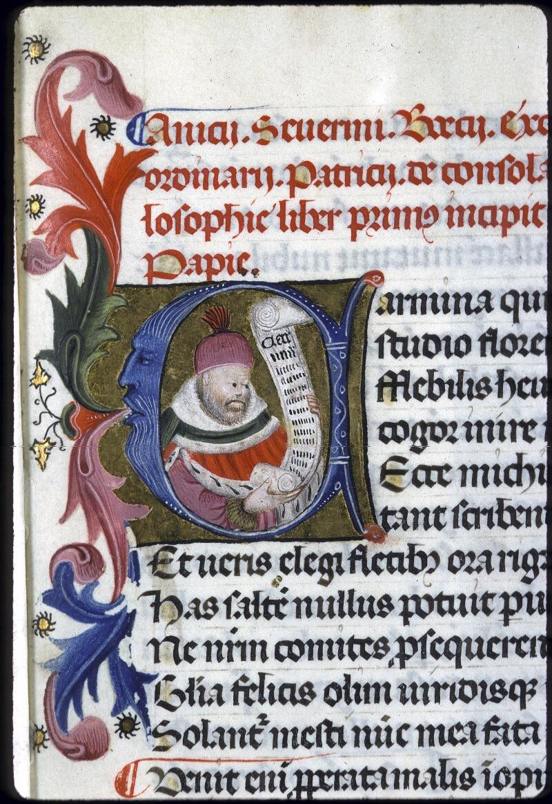 Lyon, Bibl. mun., ms. 0246, f. 001 - vue 3