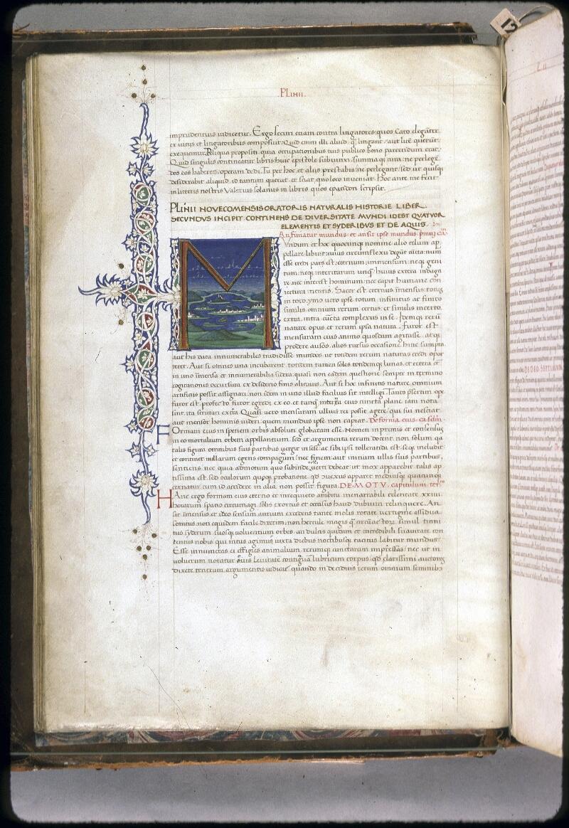 Lyon, Bibl. mun., ms. 0309, f. 002v - vue 1