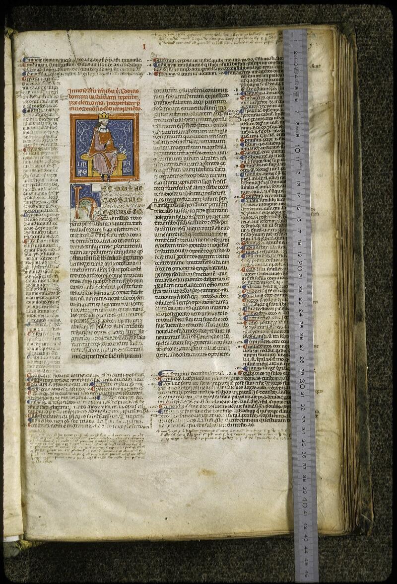 Lyon, Bibl. mun., ms. 0373, f. 003 - vue 1