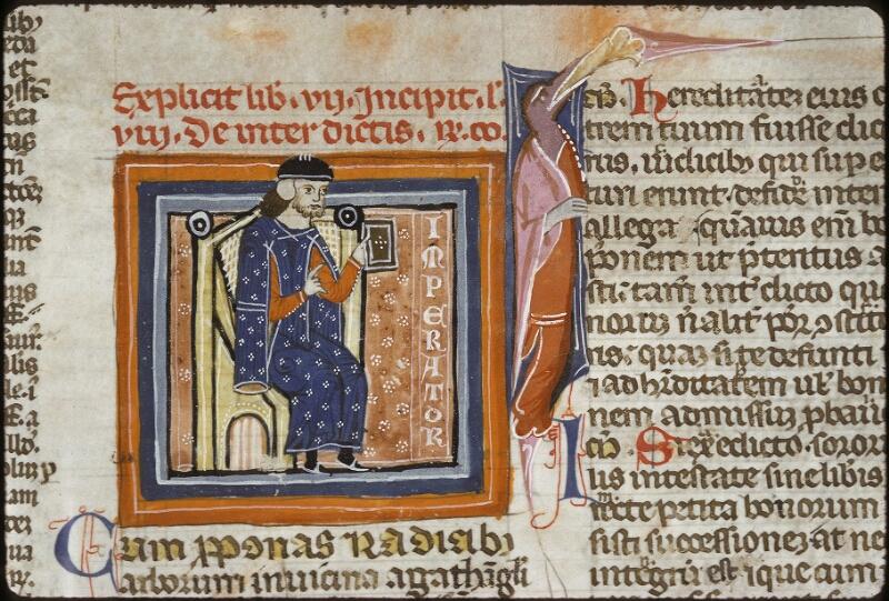 Lyon, Bibl. mun., ms. 0373, f. 235 - vue 1