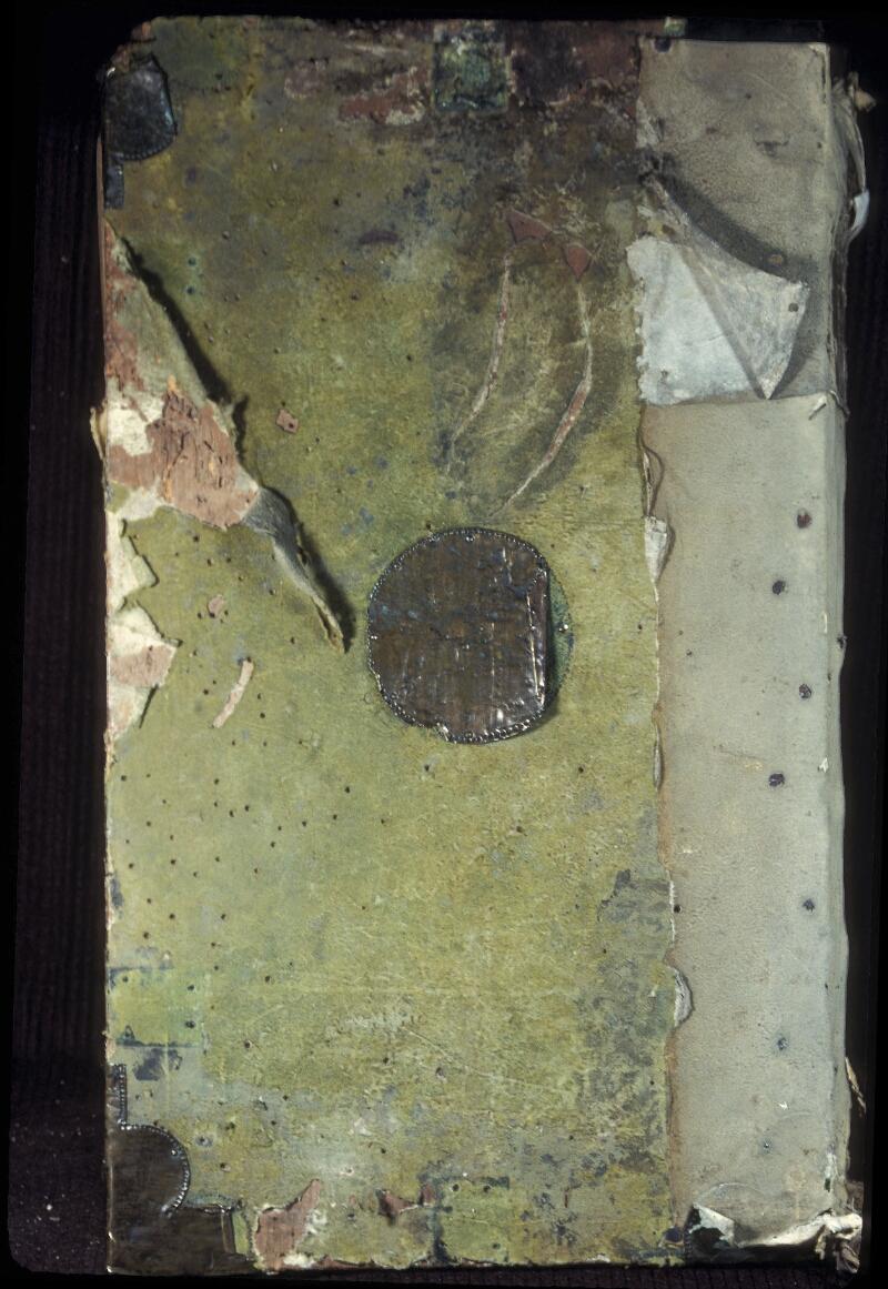 Lyon, Bibl. mun., ms. 0374, reliure plat inf.