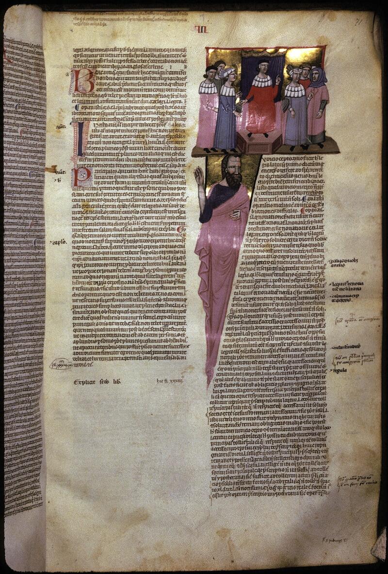 Lyon, Bibl. mun., ms. 0374, f. 071 - vue 1