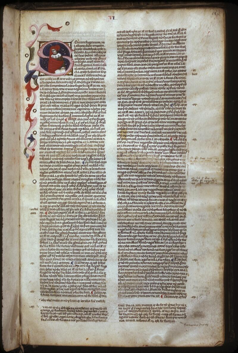 Lyon, Bibl. mun., ms. 0374, f. 180 - vue 1