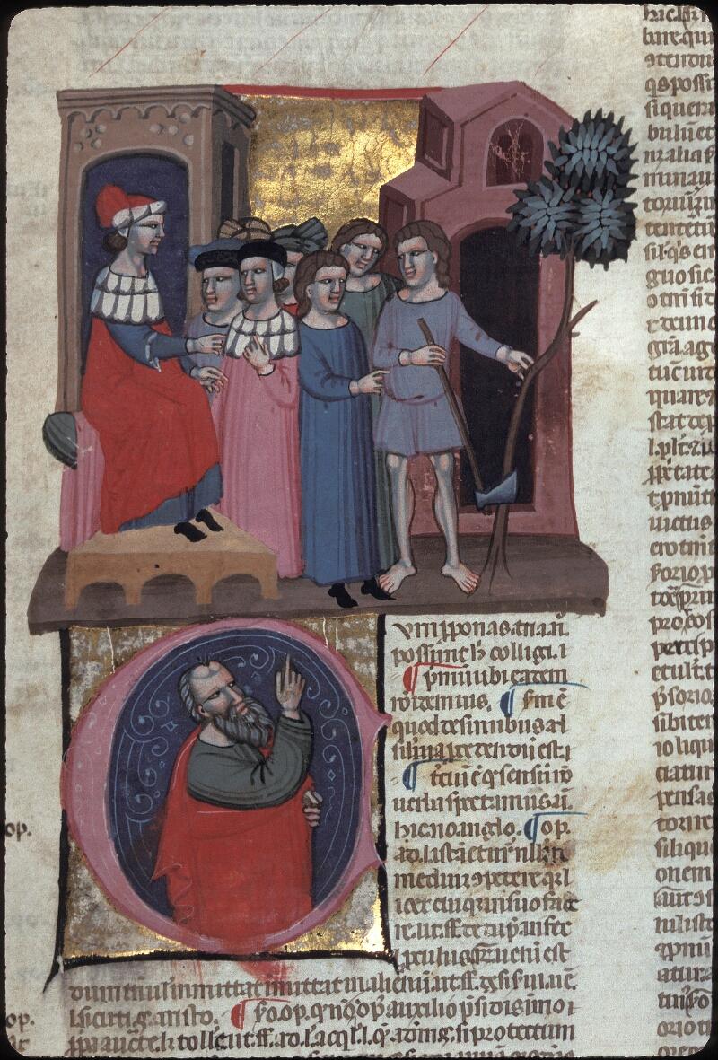 Lyon, Bibl. mun., ms. 0374, f. 258 - vue 1