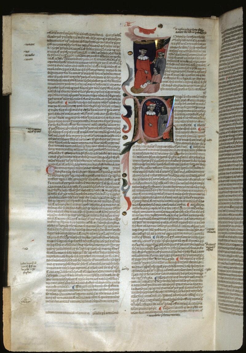 Lyon, Bibl. mun., ms. 0374, f. 283v - vue 1