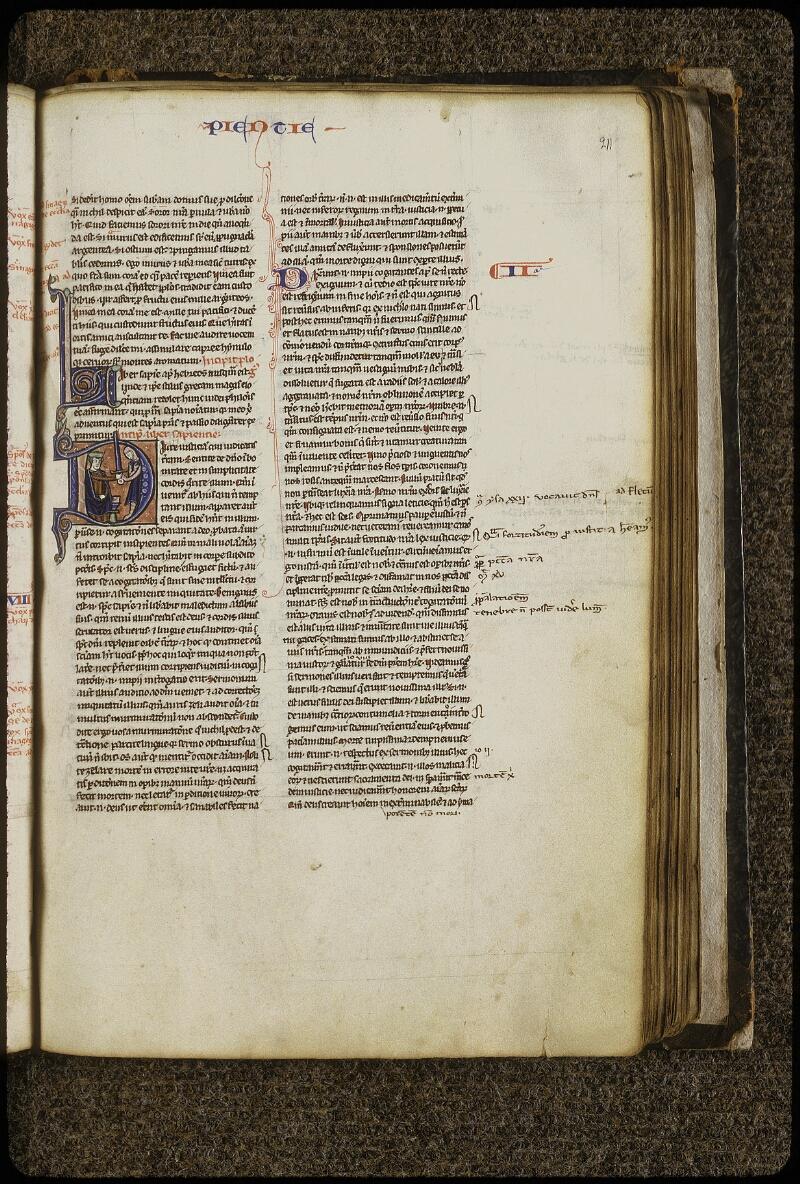 Lyon, Bibl. mun., ms. 0408, f. 211 - vue 1