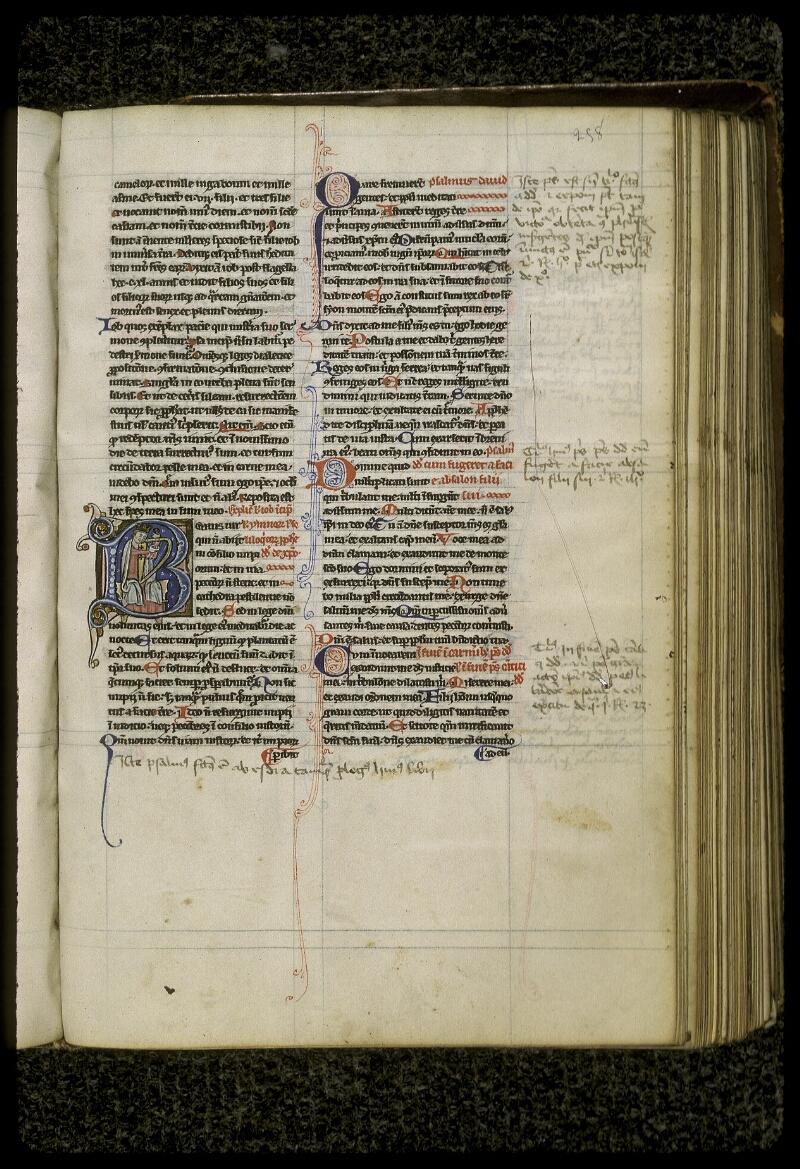 Lyon, Bibl. mun., ms. 0409, f. 258 - vue 1