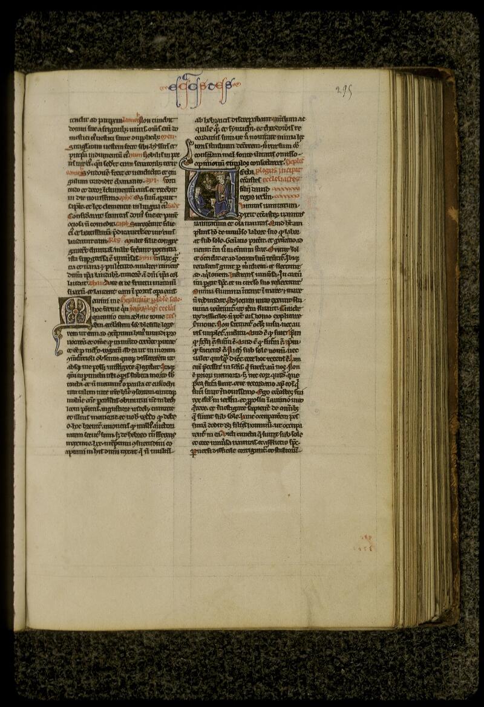 Lyon, Bibl. mun., ms. 0409, f. 295 - vue 1