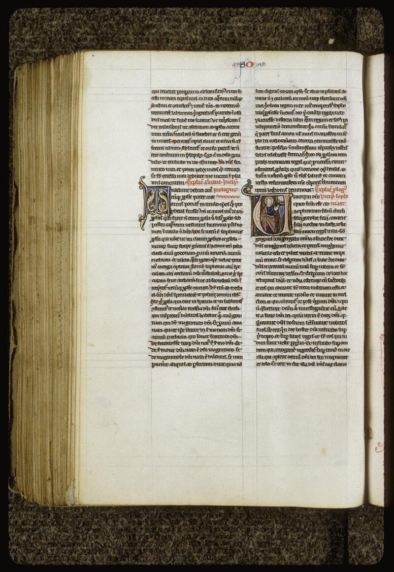 Lyon, Bibl. mun., ms. 0409, f. 420v - vue 1