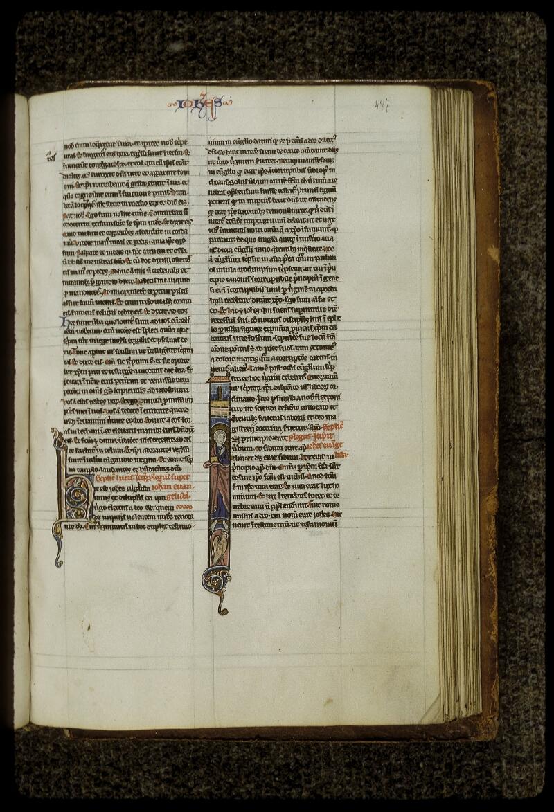 Lyon, Bibl. mun., ms. 0409, f. 487 - vue 1