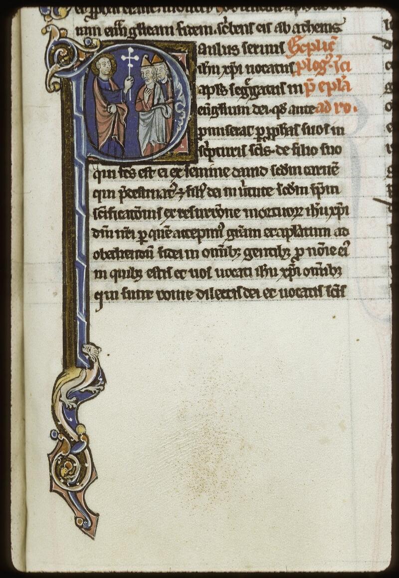 Lyon, Bibl. mun., ms. 0409, f. 498 - vue 2