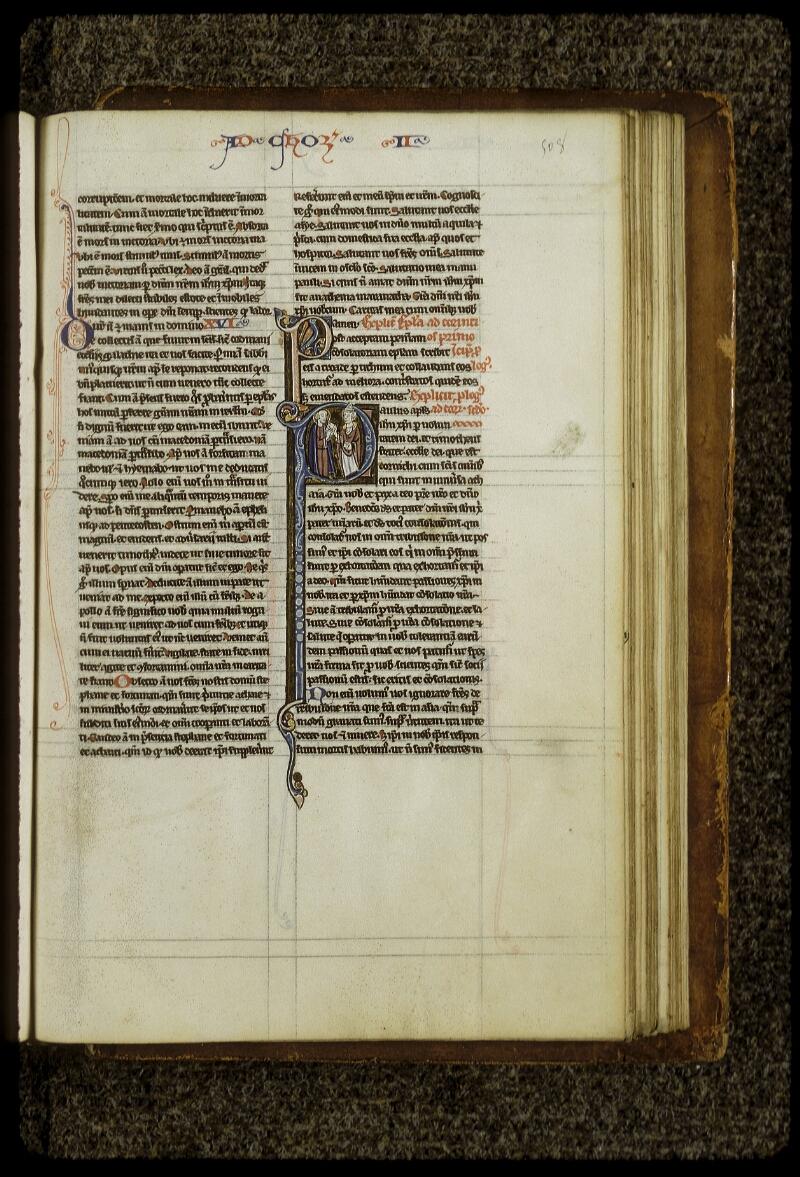 Lyon, Bibl. mun., ms. 0409, f. 508 - vue 1