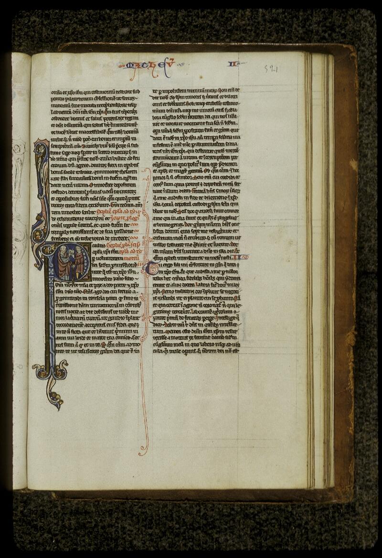 Lyon, Bibl. mun., ms. 0409, f. 521 - vue 1