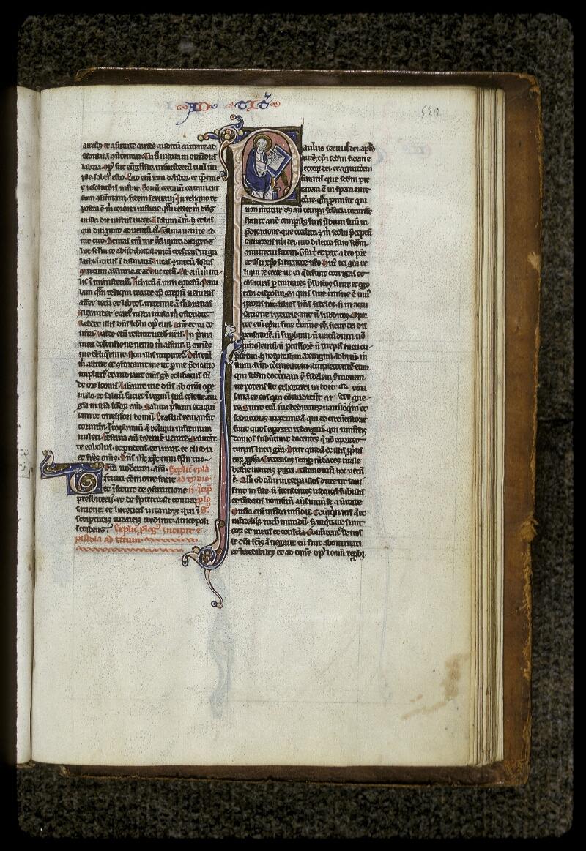 Lyon, Bibl. mun., ms. 0409, f. 522 - vue 1