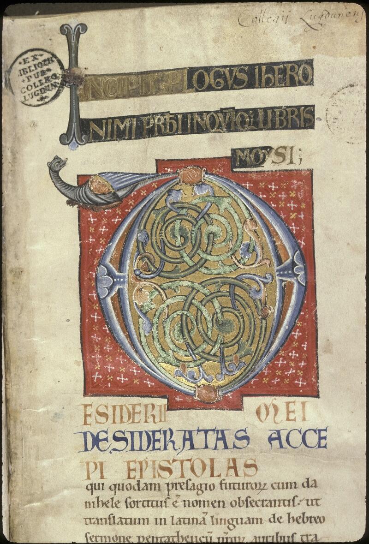 Lyon, Bibl. mun., ms. 0410, f. 001 - vue 3