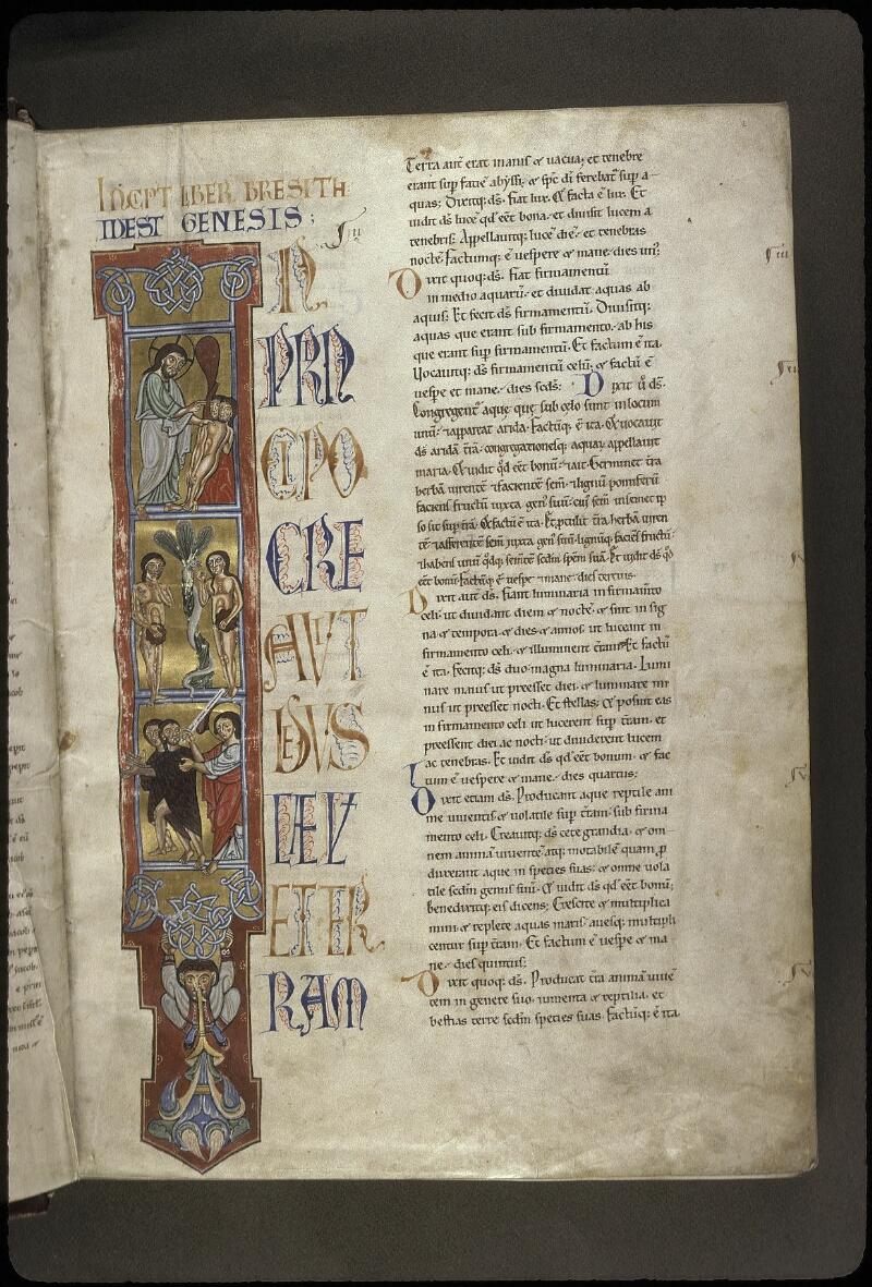 Lyon, Bibl. mun., ms. 0410, f. 002 - vue 1