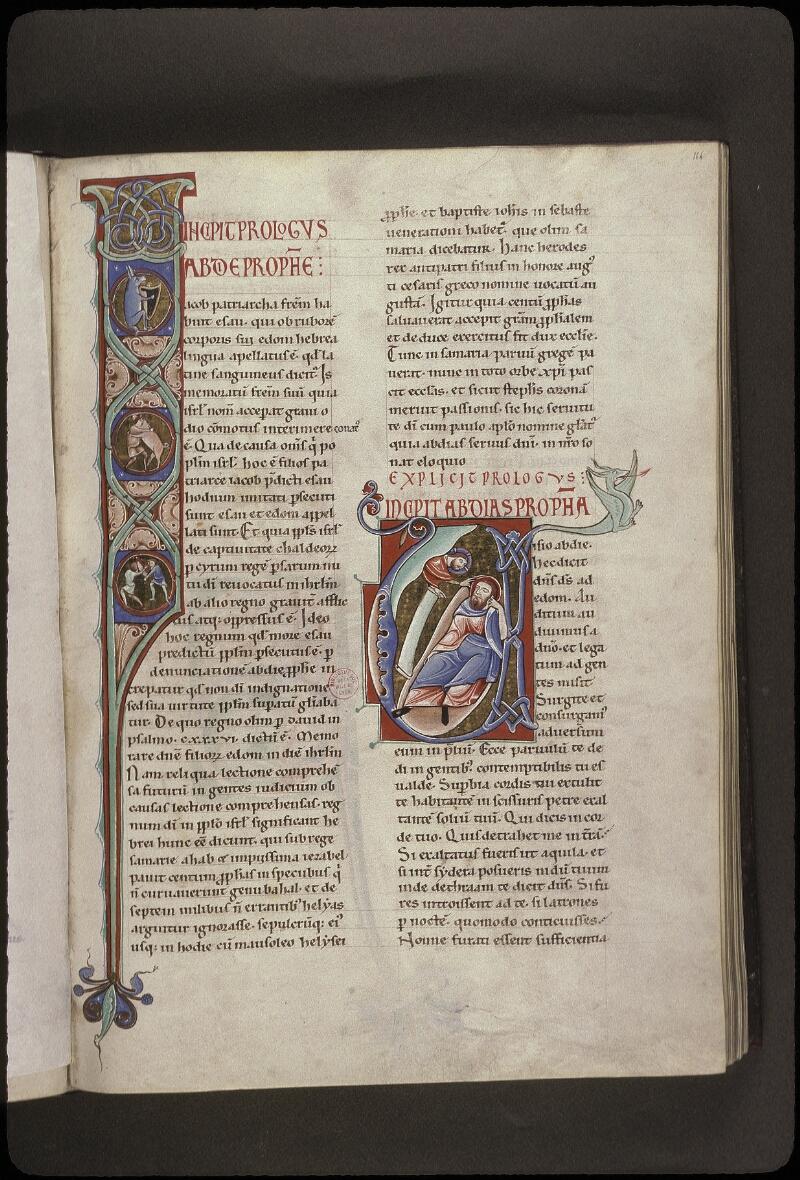 Lyon, Bibl. mun., ms. 0411, f. 164 - vue 1