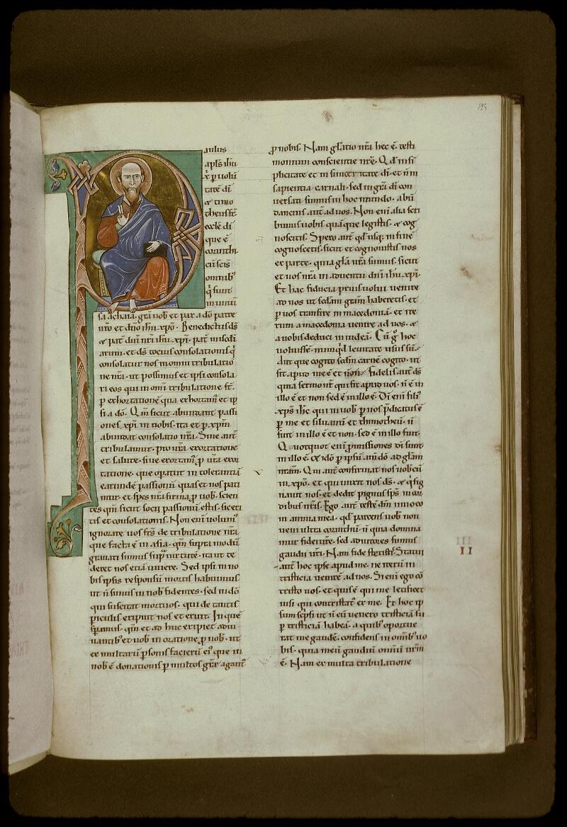 Lyon, Bibl. mun., ms. 0411, f. 195 - vue 1