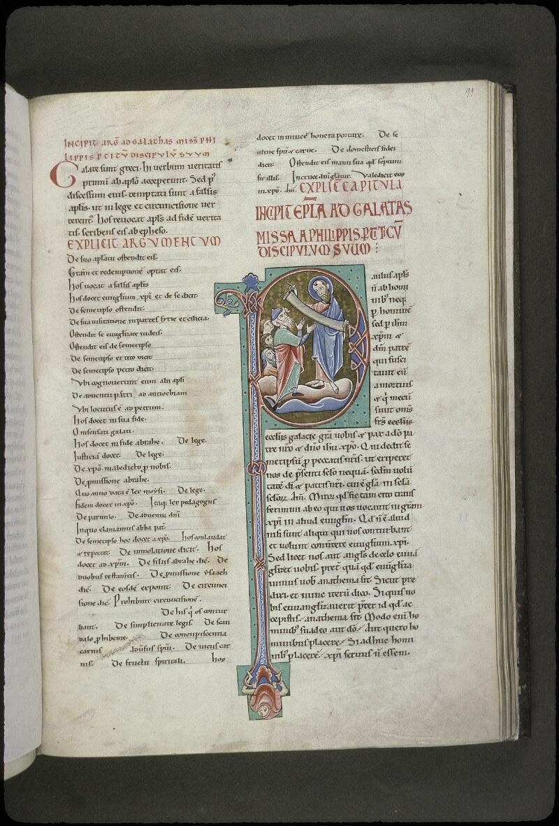 Lyon, Bibl. mun., ms. 0411, f. 199 - vue 1