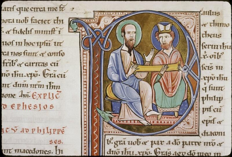 Lyon, Bibl. mun., ms. 0411, f. 203v - vue 2