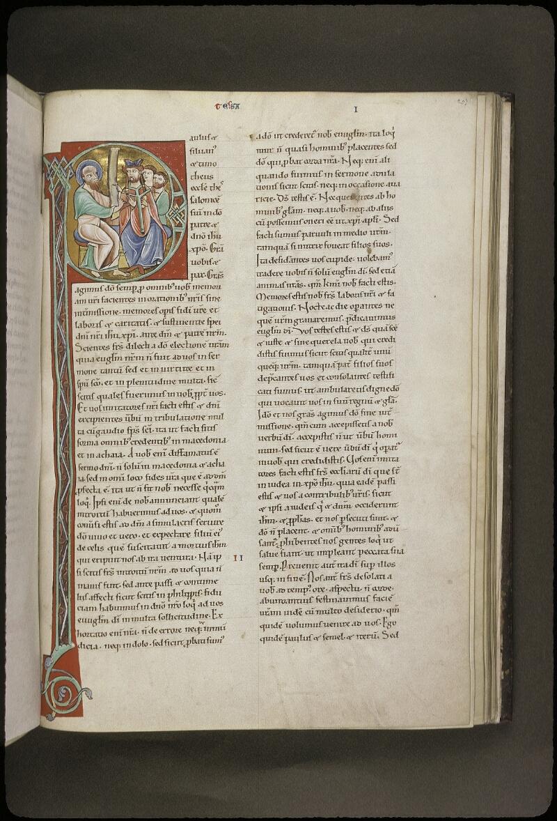 Lyon, Bibl. mun., ms. 0411, f. 207 - vue 1